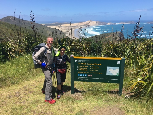 Cape Reinga and the start of Te Araroa