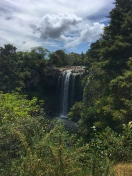 Rainbow falls at Kerikeri