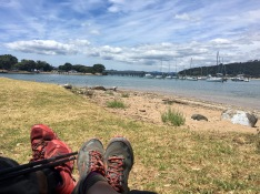 Relaxing at Paihia