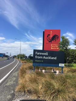 Goodbye from Auckland. Best wishes for the Year of the Rooster. Passing Auckland airport
