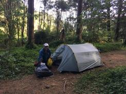 Camping near Hunua Falls