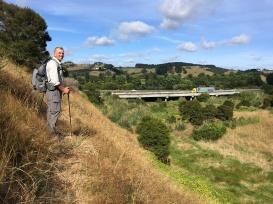 And views to the Waikato express way