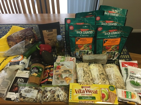 Food for four days