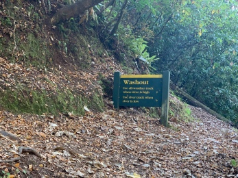 Washout sign